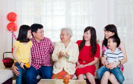 Foto de Chinese new year celebration - Imagen libre de derechos