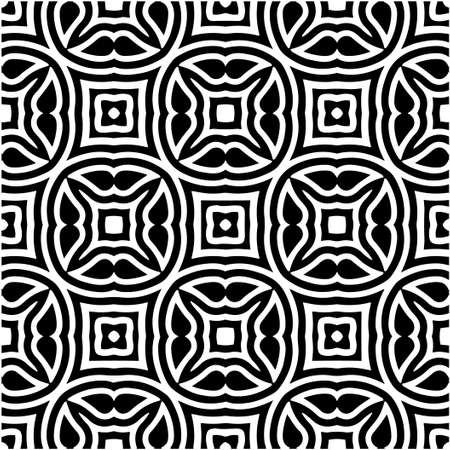 seamless geometric pattern with repeating elements.Black and white pattern. retained white elements to easily change the color of the inside of the black patterns.