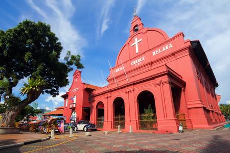 Photo for Christ Church in Melaka, Malaysia - Royalty Free Image