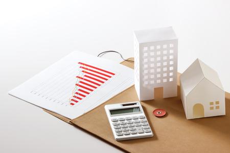 Photo pour Real estate management - image libre de droit