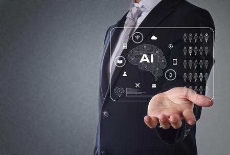 Foto de artificial intelligence concept - Imagen libre de derechos