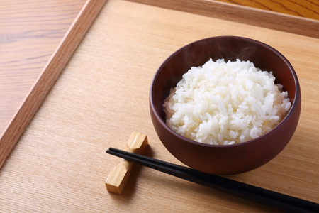 Photo for japanese rice on the table - Royalty Free Image