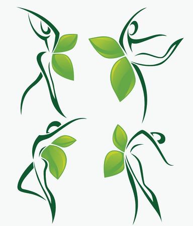 Illustration pour vector organic collection - image libre de droit