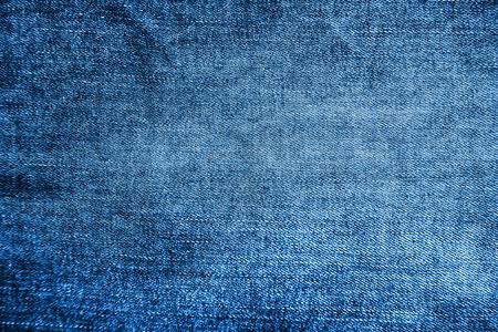 Photo pour Blue denim texture background, close up - image libre de droit