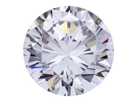 Photo pour diamond jewel on white background - image libre de droit