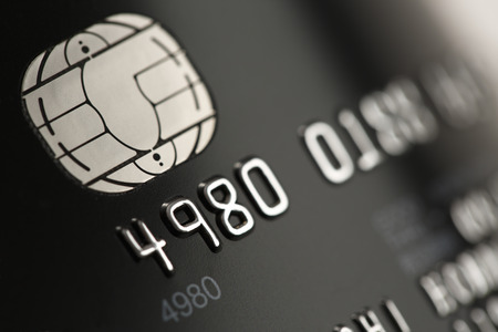 Photo pour Credit card close up - image libre de droit