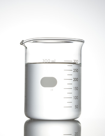 Photo for Beaker on white - Royalty Free Image