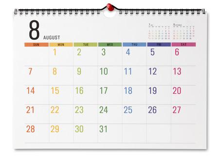 Photo pour Colorful calendar - image libre de droit