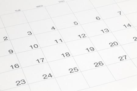 Photo pour Calendar - image libre de droit