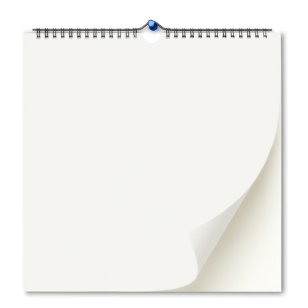 Photo for Blank wall calendar - Royalty Free Image