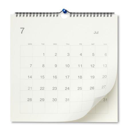 Foto de Wall calendar - Imagen libre de derechos