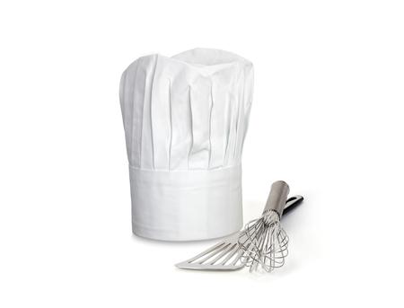 Foto de Chef Hat and utensils - Imagen libre de derechos