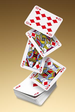 Photo pour Playing Cards - image libre de droit
