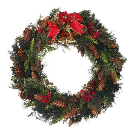 Foto de Christmas Wreath - Imagen libre de derechos