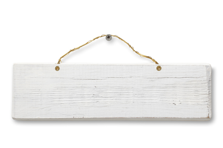 Photo for Blank Wooden Sign - Royalty Free Image