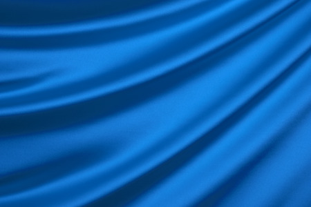 Photo for Blue silk textile background - Royalty Free Image