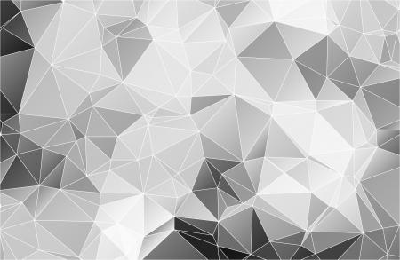 Ilustración de Black and white abstract background polygon - Imagen libre de derechos