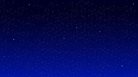 Illustration pour Stars on a blue background. Star Sky - image libre de droit