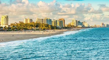 Foto de Scenic view of Ft. Lauderdale Beach, Florida - Imagen libre de derechos