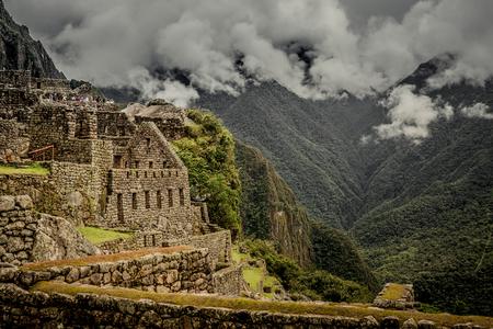 Photo pour Incredibly beatiful site of Machu Picchu - image libre de droit