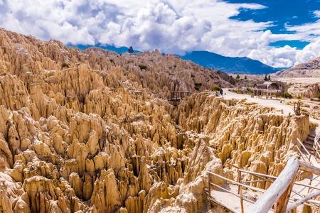 Photo pour The Valley of the Moon, Bolivia - image libre de droit