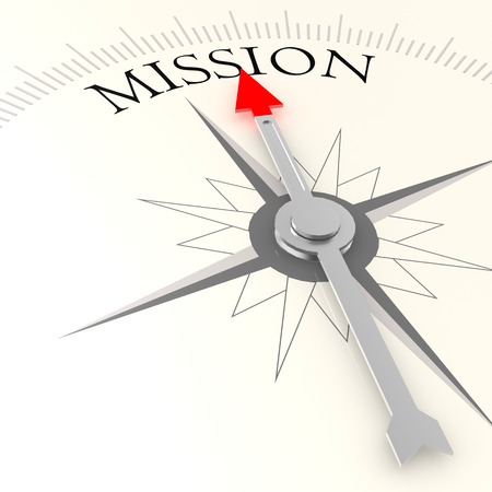 Photo for Mission compass - Royalty Free Image