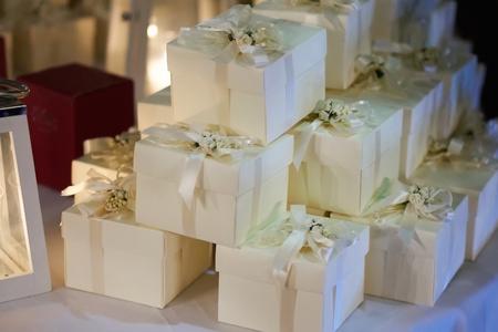 Photo pour Wedding favors gift for guest - image libre de droit