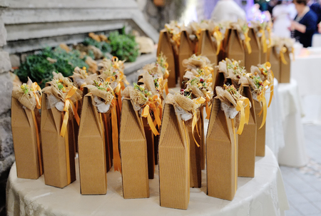 Photo for Decorated wedding favors gift for guest - Royalty Free Image