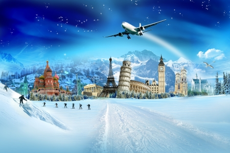 Foto per Travel - winter season - Immagine Royalty Free