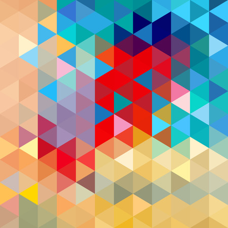 Ilustración de Bright colorful the geometric abstract a background. - Imagen libre de derechos