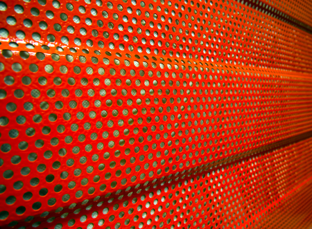 Photo pour Fragment of noise protection panel used to reduce noise - image libre de droit