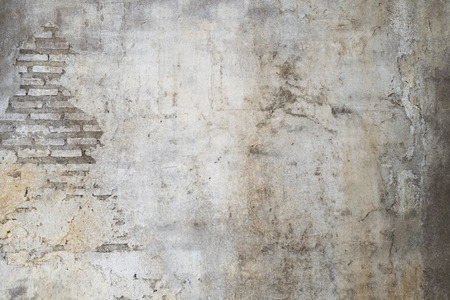 Foto de old wall with cracks background - Imagen libre de derechos