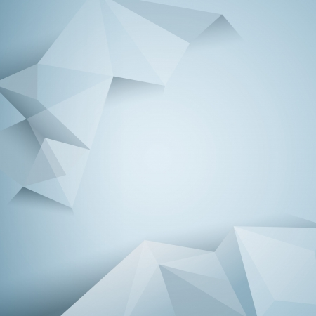 Illustration for polygonal design / Abstract geometrical background  - Royalty Free Image