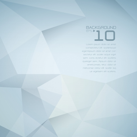 Foto de Polygonal design - Abstract geometrical background  - Imagen libre de derechos