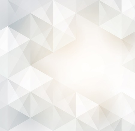 Illustration for White geometric background - Royalty Free Image