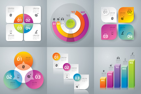 Illustration pour Infographics vector design template. - image libre de droit