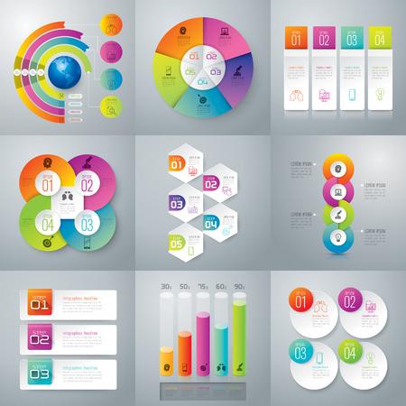 Illustration pour Infographic design vector. - image libre de droit