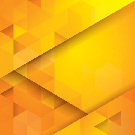 Illustration pour Yellow abstract background vector. - image libre de droit