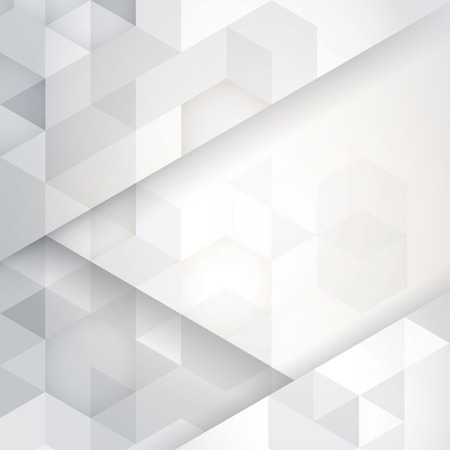 Illustration pour White and gray abstract background vector. - image libre de droit
