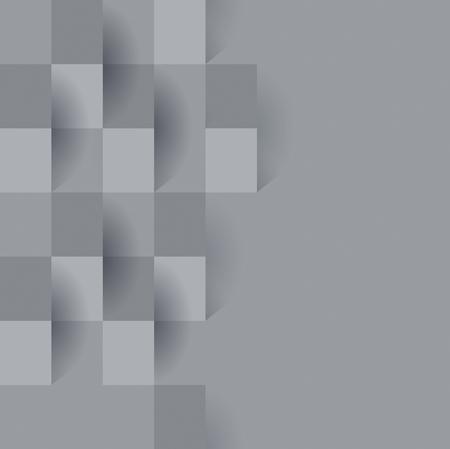 Ilustración de Gray abstract background vector. - Imagen libre de derechos