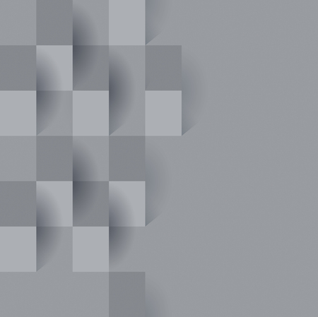 Illustration pour Gray abstract background vector. - image libre de droit
