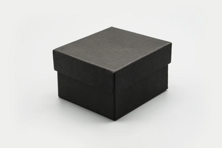 Photo pour black box mock up white isolated background - image libre de droit
