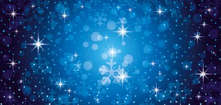 Illustration pour Blue christmas background. - image libre de droit