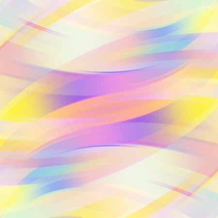 Ilustración de Colorful smooth light lines background. Vector illustration - Imagen libre de derechos