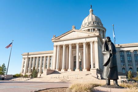 Foto de State Capitol in Oklahoma city, capital of Oklahoma state, USA - Imagen libre de derechos
