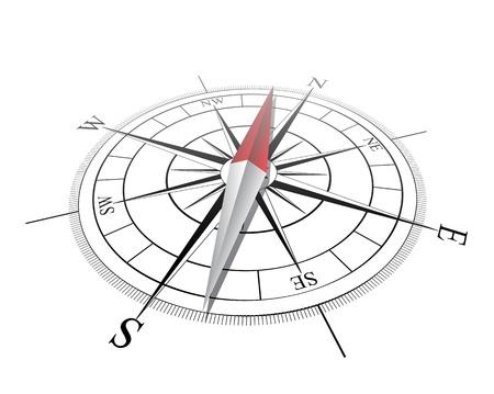 Ilustración de Compass  Vector illustration - Imagen libre de derechos