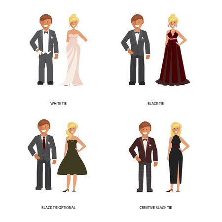Illustration for tie dress code - Royalty Free Image
