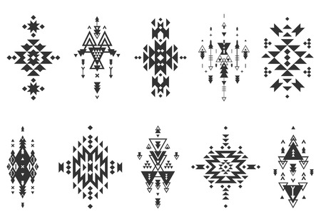 Foto de Vector Tribal elements, ethnic collection - Imagen libre de derechos