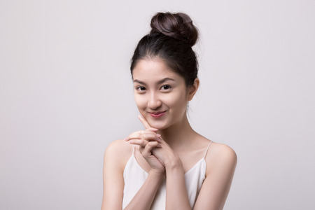 Photo for Portrait beautiful Asian Girl - Royalty Free Image