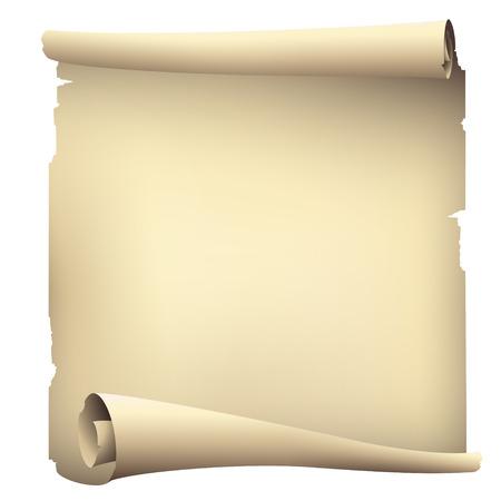 Illustration pour old scroll paper banners , vector drawing - image libre de droit